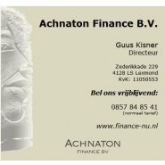Achnaton Finance BV