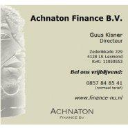 Achnaton Finance BV