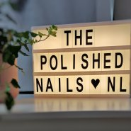 The polished nails